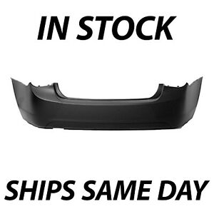 New Primered Rear Bumper Cover For 2011 2012 2013 2014 2015 Chevy Cruz