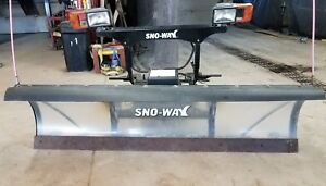 Complete Used Sno way 22 Series 6 8 Snow Plow Up186 Everything You Need