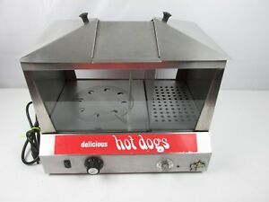 Star 35ss Commercial Hot Dog Steamer Bun Warmer Electric