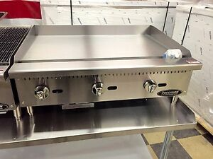 36 Flat Griddle Grill New Commercial Restaurant Heavy Duty Nat Or Lp Gas