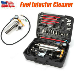 Auto Non Dismantle Fuel System Cleaner Injector Cleaning Tool For Petrol Efi Usa