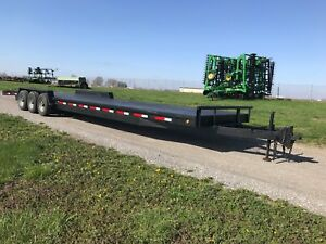02 Pari Heavy Duty 36 Tri axle Trailer With Ramps And Steel Floor