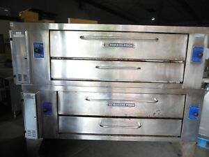 2014 Bakers Pride Double Stack Y600 s Pizza Ovens Natural Gas Excellent