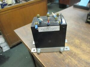 D k Electric Potential Transformer 3vt471 480 120 Ratio 4 1 Pri 480v 60hz Used