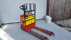 2008 Raymond Electric Pallet Jack 4500 Lbs 102t f45l With On Board Charger
