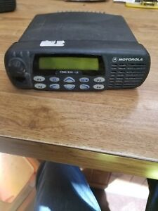 Motorola Cdm1550 ls Two Way Radio Used Condition