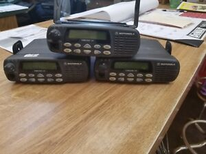 Motorola Cdm1550 ls Two Way Radio Lot Of 3