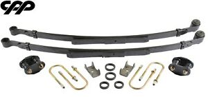 1970 1981 Chevy Camaro 2 Drop Complete Narrow Leaf Spring Upgrade Kit