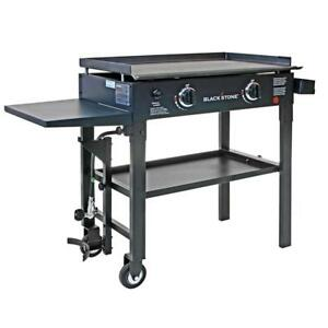 Restaurant Gas Grill Flat Top Professional Commercial Griddle Two Burner Cooker