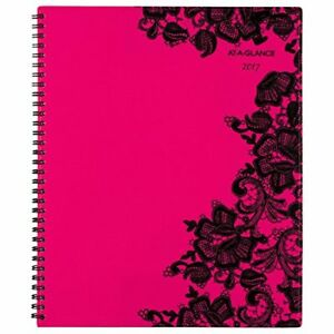 At a glance Professional Weekly Monthly Planner Appointment Book 2017 8 1
