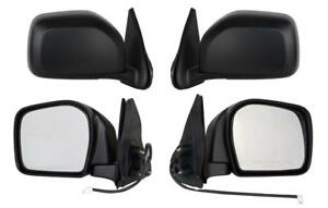 New Pair Door Mirrors Fits Toyota Tacoma Pre Runner Rwd 2001 2004 Power Non heat