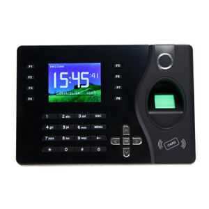 Tcp ip Spanish Language Fingerprint Time Attendance System With Free Software