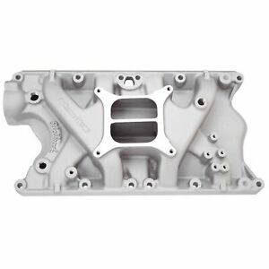 Edelbrock 2181 Performer Intake Manifold For S B Ford 351w W Free Intake Gaskets
