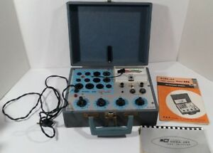 Dyna Jet 606 Portable Vacuum Tube Tester With Manuals tested