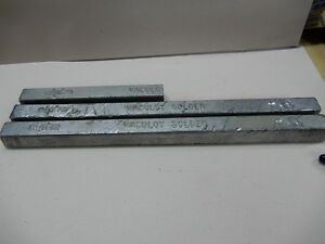 Vaculoy Alpha Solder Bar Sn60pb40 Tin 60 Lead 40 Two And A Half Bars