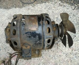 Antique vintage Century 1 6 Hp Electric Motor Type Rs Frame M6