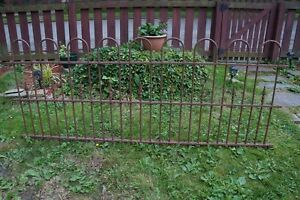 Architectural Antique Wrought Iron Fence