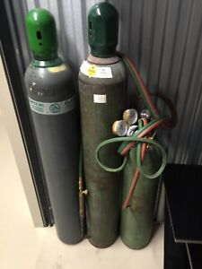 Oxygen Welding Tanks