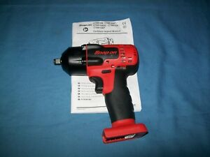New Snap On 3 8 Drive 18 V Monsterlithium Cordless Impact Gun Ct8810a Tool