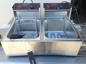 Countertop Deep Fryer Model Yb 82a Elecktric