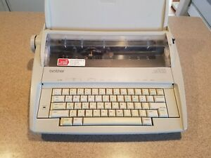 Brother Gx 6750 Daisy Wheel Correctronic Electronic Typewriter Good Condition