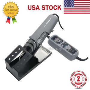938d Portable Hot Tweezers Mini Soldering Station 110v For Bga Smd Yihua Us