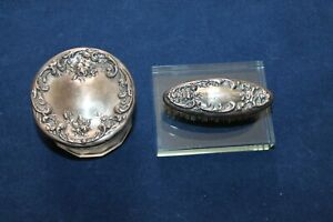 Foster And Bailey Sterling Silver Vanity Pieces