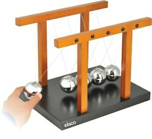 Giant Newton s Cradle assembled 310 X 240 X 245 Mm Ball 55mm Dia Eisco Labs