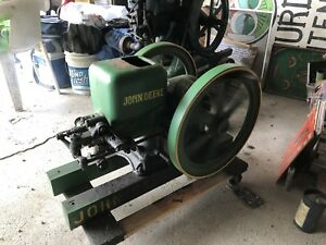 John Deere Hit and miss 1 1 2hp Engine Well Preserved Starts And Runs Well