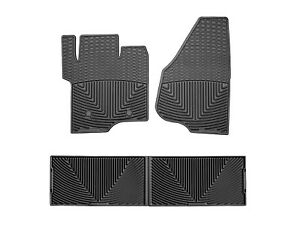 Weathertech All Weather Floor Mats For Ford Super Duty Crew Cab 2011 2016 Black