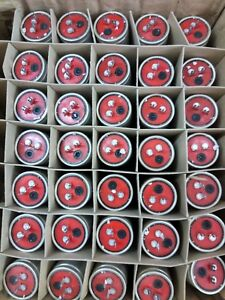 15000uf 25v Roe Ey Vintage 70 Germany Electrolytic Caps X10 Pieces