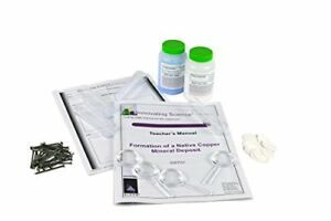 Innovating Science Native Copper Mineral Formation Kit materials For 15 Groups