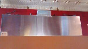 Used 9ft Commercial Exhaust Hood In Good Condition