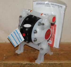 Aro Pd07p aps ptt Air Double Diaphragm Pump 3 4 Inlet 15 Gpm 150f