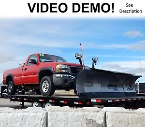 Snowdogg Xp810 Expandable Snow Plow 8 To 10 Scoop 2 Year Warranty Vide0