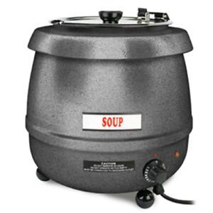 Countertop Table Top Stainless Steel Commercial Electric Soup Warmer Kettle Pot