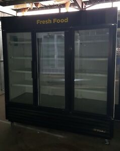 3 Door Commercial Cooler Used Cooler