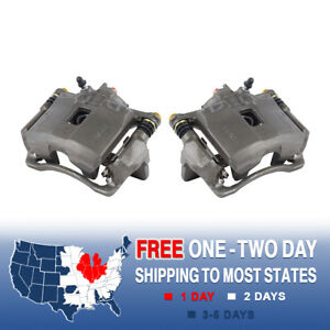 Front Brake Calipers For 1993 1994 1995 1997 Honda Civic Ex Coupe Del Sol