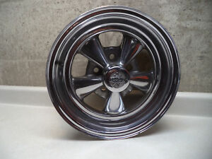 Cragar Ss Mag Wheel Rim 15x6 Fits Gm Dated June 1970 Vintage