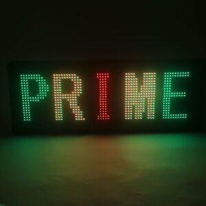 Led Sign Programmable Outdoor Message Scrolling Display Open Board Color 40 x15