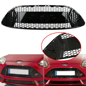 Car Front Bumper Radiator Center Grille Panel Trim For Ford Focus St 2013 2014