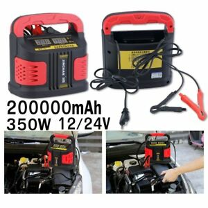 12v 24v Car Portable Jump Starter Booster Jumper Battery Charger