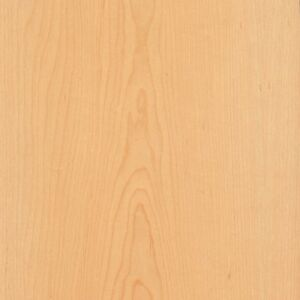 Maple Wood Veneer Plain Sliced 2 x8 Psa 9505 Sheet