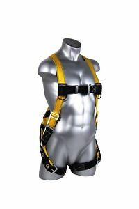 Economy Harness Chest Safety Leg Fall Protection Construction Vest Kit Outdoor
