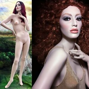 Rare Female Mannequin Rootstein Full Size Realistic Ulla Glass Eyes