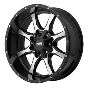 17x8 Black 970 Mo970gm 6x120 6x5 5 0 Firestone Destination Le2 245 65r17 Rims T