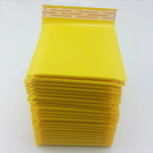 Kraft Bubble Mailers Shipping Mailing Padded Bags Envelopes Self seal