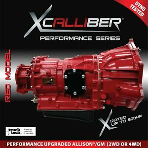 High Performance Transmission For Allison 1000 gm Duramax 2001 16 Up To 400hp