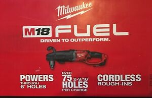 New Milwaukee 2709 20 Super Hawg 1 2 Right Angle Cordless 18 Volt Drill 349