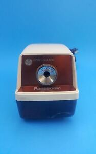 Vintage Panasonic Point o matic Model Kp 33a Electric Pencil Sharpener Auto Stop